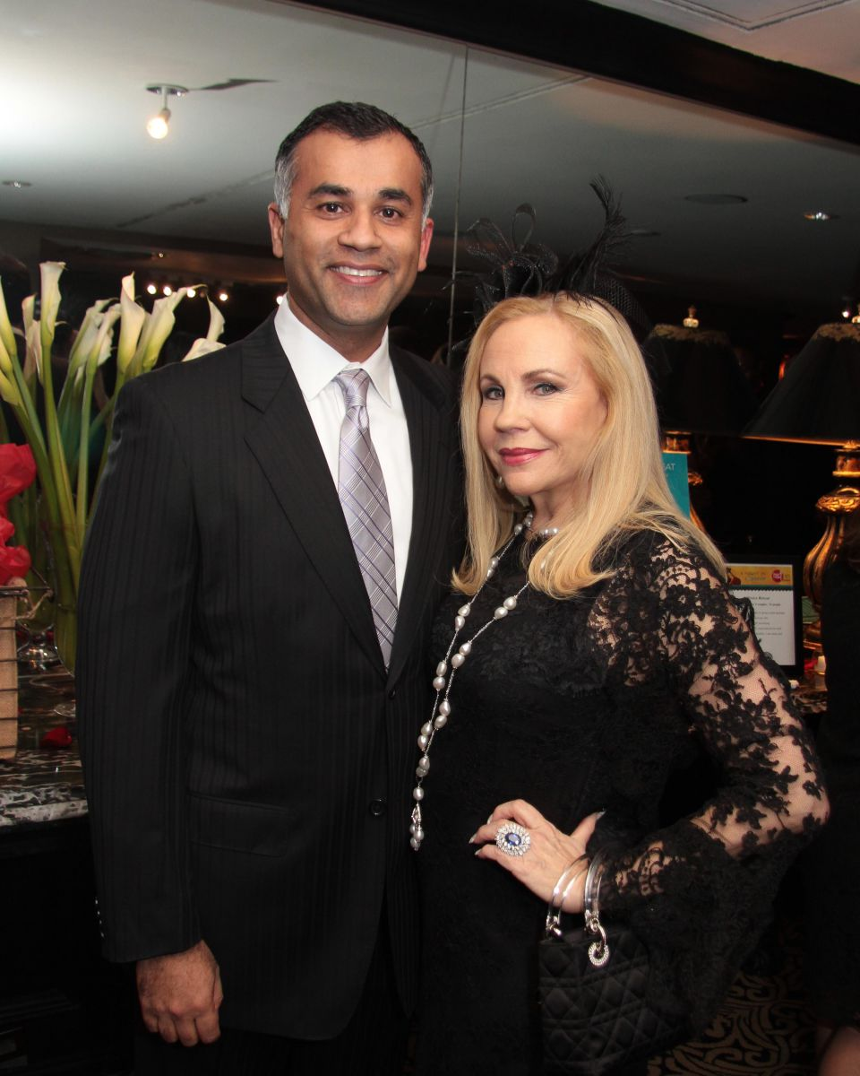 Mush Khan and Carolyn Farb